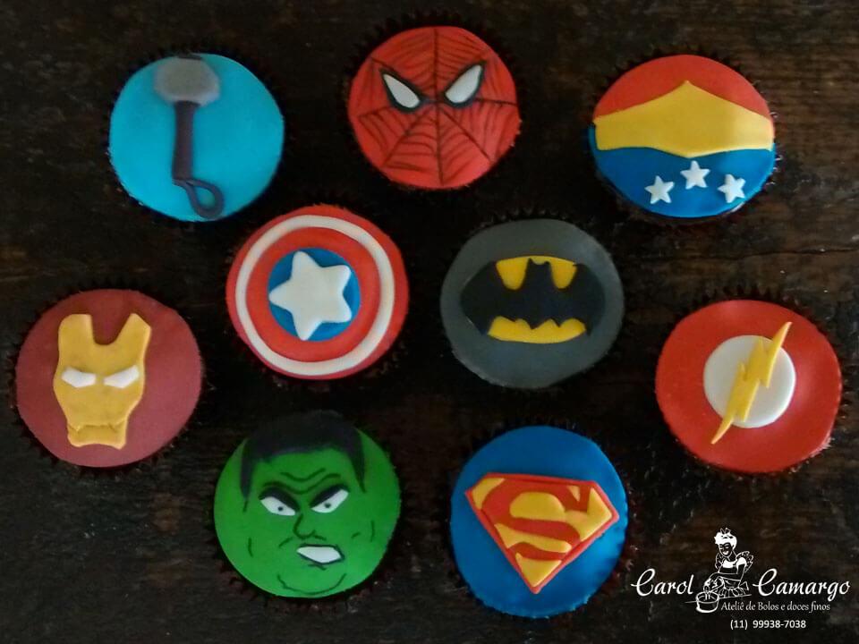 Cupcake super-herói